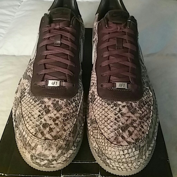 save off 44d46 8d2a0 Nike Air Force 1 Downtown Low Python. NWT. Nike.  M 5c0afb0834a4ef125d65c3ac. M 5c0afa4f3c98440a16a30448.  M 5c0af9debaebf665df14266d